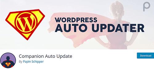WordPress auto updater