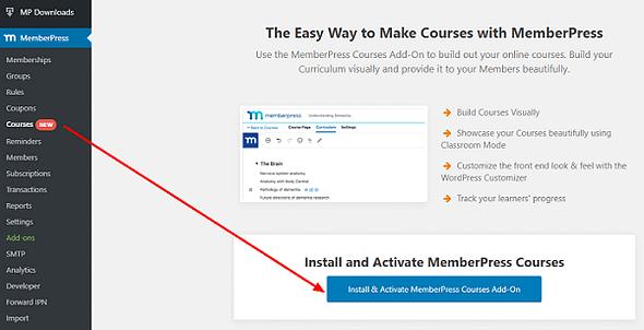 MemberPress Courses