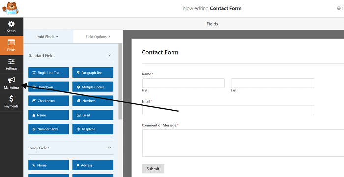 WPForms-settings