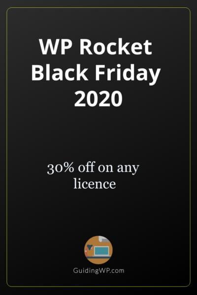 WP Rocket Black Friday 2021: Flat 30% Off on Any License
