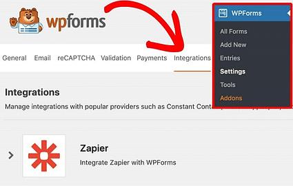 WPForms-Zapier