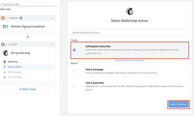 MailChimp MemberPress