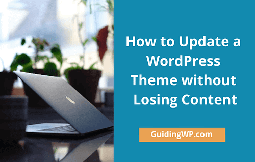How-to-Update-a-WordPress-Theme-without-losing-settings