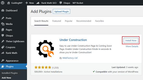 Under-Construction-plugin