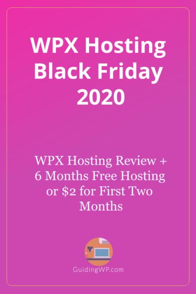WPX Hosting Black Friday 2021: 99% Off + 6-Months Free Hosting