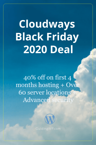 Cloudways Black Friday 2021 Deal: Flat 40% Off on 4 Months Hosting