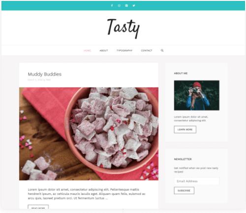 GeneratePress-wordpress-food-theme