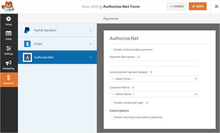 authorize-net-addon-wpforms