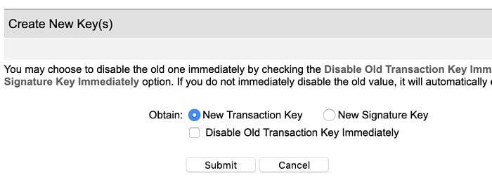 Create-new-transaction-key-Authorize-Net