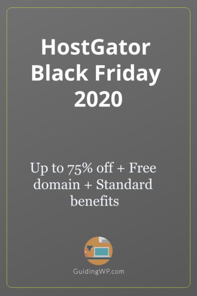 HostGator Black Friday 2021: Up to 75% Off on Hosting