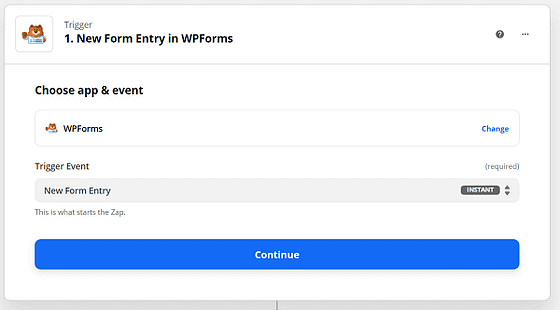 WPForms-integration