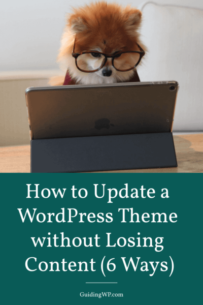 How-to-Update-a-WordPress-Theme-without-Losing-Content-(6-Ways)